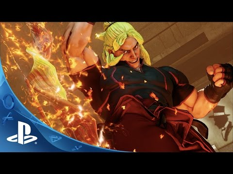 Street Fighter V - Ken Trailer | PS4