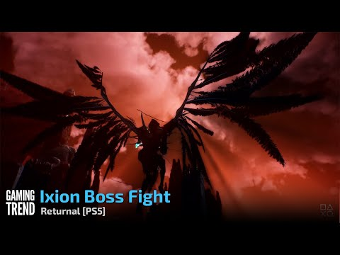 Returnal - Ixion Boss Fight - PS5 [Gaming Trend]