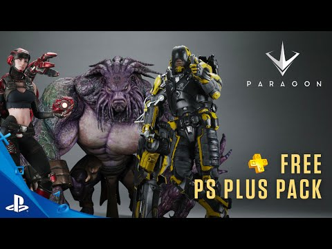 Paragon - PS Plus: Free for July 2016 Trailer   PS4