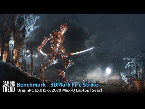 OriginPC EON15-X 2070 Max-Q AMD Laptop - Benchmark - 3DMark Fire Strike [Gaming Trend]