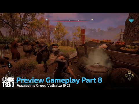 Assassin's Creed Valhalla Preview Gameplay Part 8/10 - PC [Gaming Trend]