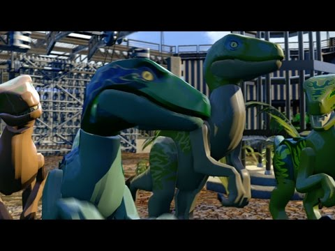LEGO Jurassic World Game - Dinosaur Gameplay Trailer