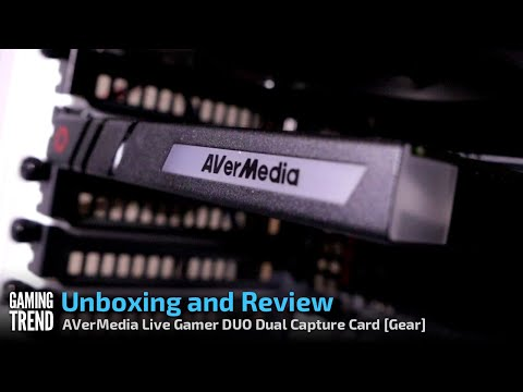 AVerMedia Live Gamer DUO - Unboxing and Review [Gaming Trend]