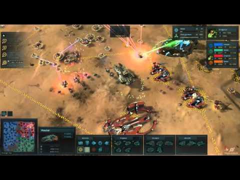 Ashes of the Singularity Beta 2 Gameplay [Gaming Trend]