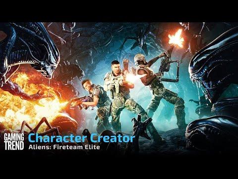 Aliens Fireteam Elite Character Creator - PC [Gaming Trend]