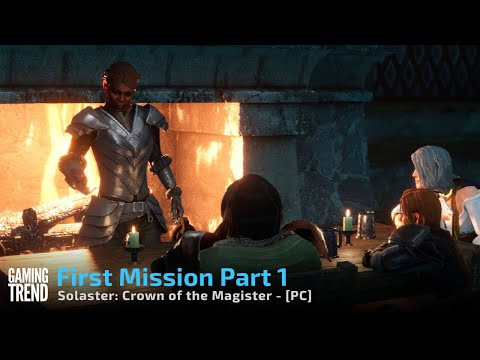 Solasta: Crown of the Magister First Mission Part 1 - PC [Gaming Trend]