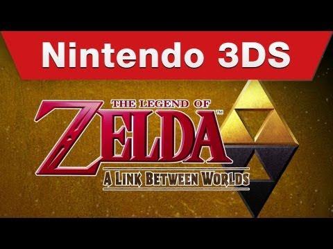 Nintendo 3DS - The Legend of Zelda: A Link Between Worlds E3 Trailer