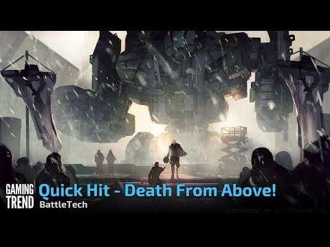 BattleTech - Death from Above example