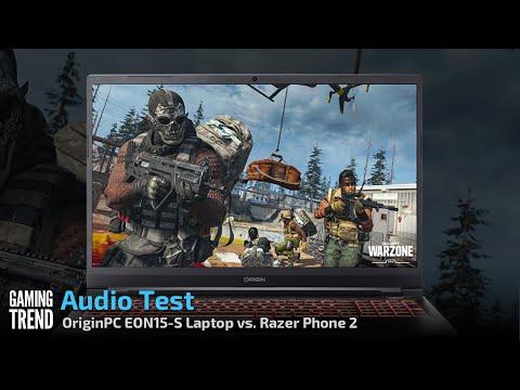 OriginPC EVO15-S Audio Comparison Test - [Gaming Trend]