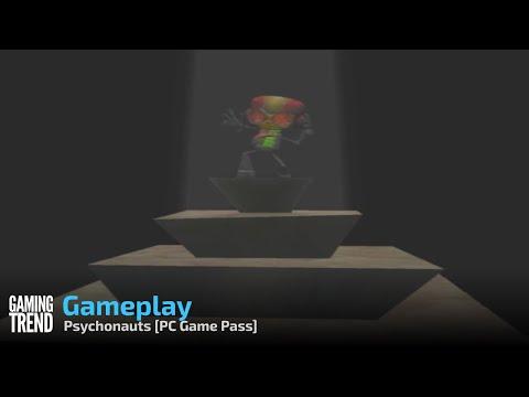 Psychonauts Gameplay - PC Game Pass [Gaming Trend]