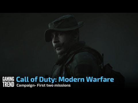 Call of Duty: Modern Warfare- First two missions of campaign