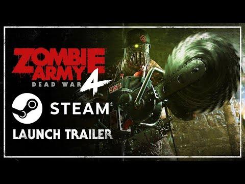 Zombie Army 4: Dead War – Steam Launch Trailer