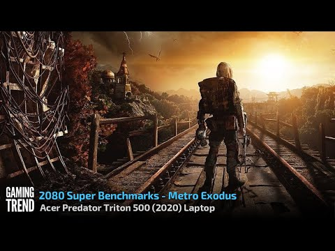 Acer Triton 500 Laptop - With and Without Turbo Benchmark - Metro Exodus [Gaming Trend]