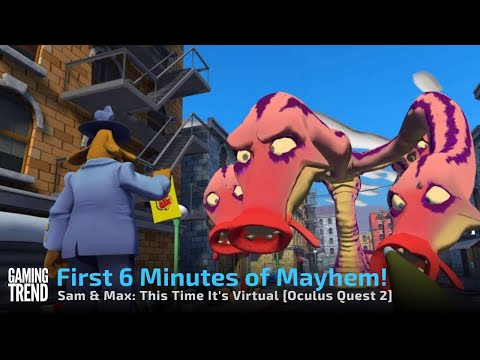 Sam & Max This Time it's Virtual Part 1 - Oculus Quest 2 [Gaming Trend]