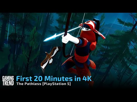 The Pathless - First 20 Minutes in 4K on PlayStation 5 [Gaming Trend]