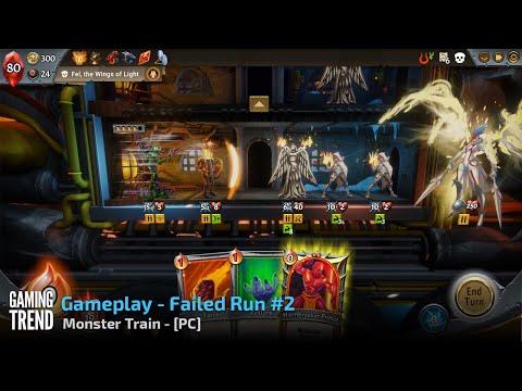 Monster Train - Gameplay Failed Run 2 - PC [Gaming Trend]