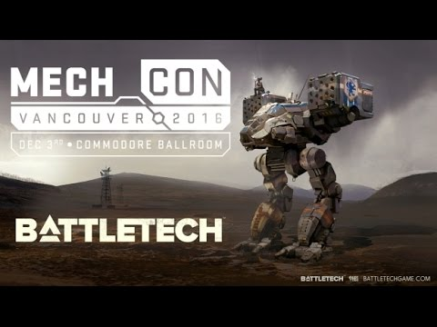 Battletech Pre Pre Alpha Hands on at MechCon 2016 [Gaming Trend]