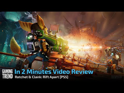 In 2 Minutes Video Review - Ratchet & Clank: Rift Apart [PS5] - [Gaming Trend]