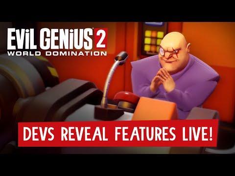 Developers Reveal Evil Genius 2 Features Live!
