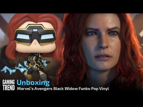 Marvel's Avengers Game Black Widow Pop Vinyl Unboxing [Gaming Trend]