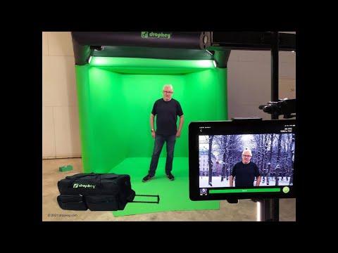 DropKey® Pop-up Studio in a Bag® Product Launch Premiere!