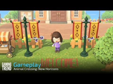 Animal Crossing: New Horizons - Day 7 Town Tour