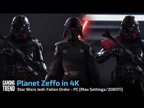 Star Wars Jedi Fallen Order - Planet Zeffo in 4K - PC [Gaming Trend]