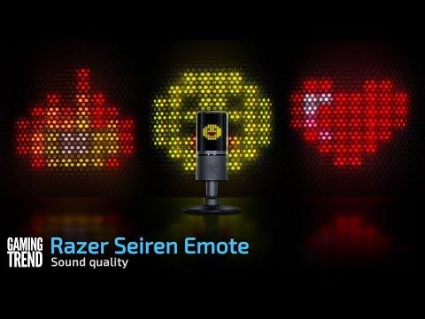 Razer Seiren Emote sound quality [Gaming Trend]