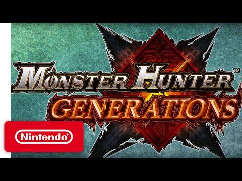 Monster Hunter Generations - 'The Hunt' Game Teaser