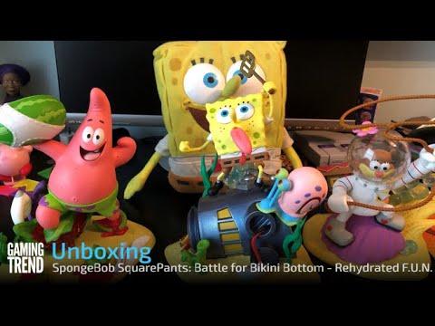 SpongeBob SquarePants: Battle for Bikini Bottom - Rehydrated F.U.N. Edition Unboxing