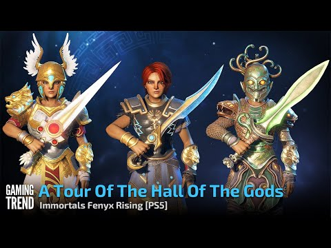 A Tour Of The Hall Of The Gods In 4K - Immortals Fenyx Rising - PS5 [Gaming Trend]