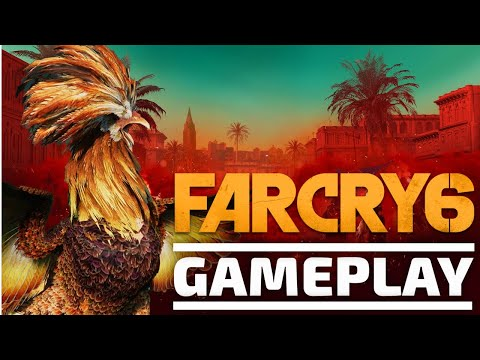 Far Cry 6 - Cockfighting in Yara! [Gaming Trend]