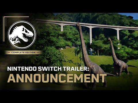 Jurassic World Evolution: Complete Edition | Nintendo Switch Announcement Trailer