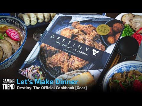 Destiny: The Official Cookbook - Let's Make a Pork Tenderloin for Dinner - [Gaming Trend]
