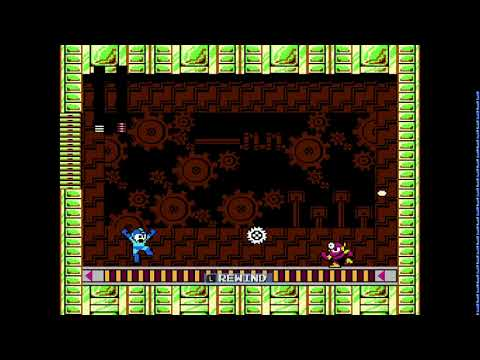 Mega Man Legacy Collection 1 Rewind Feature