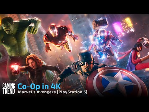Marvel's Avengers - Co-Op gameplay in 4K on PlayStation 5 [Gaming Trend]