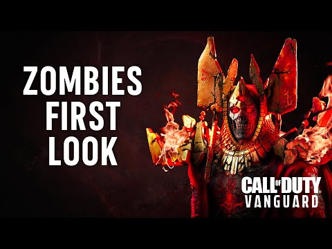 First Look at Zombies   Call of Duty: Vanguard