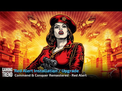 Command & Conquer Remastered - Red Alert - Install in 4K [Gaming Trend]