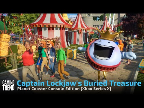 Planet Coaster Console Edition Captain Lockjaw's Buried Treasures in 4K on Xbox Series X
