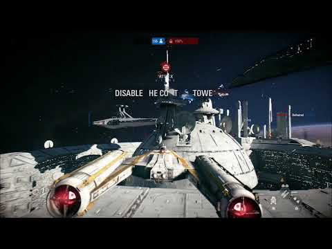 Star Wars Battlefront II - Starfighter - Ryloth Round 2 - Republic - Let's Play [Gaming Trend]