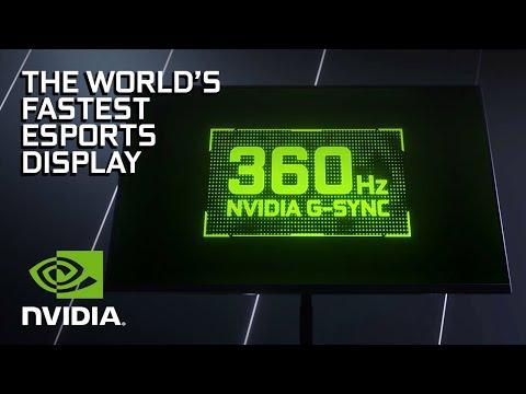 360Hz NVIDIA G-SYNC | The World's Fastest Esports Displays