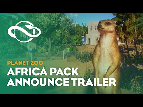Planet Zoo: Africa Pack | Announcement Trailer