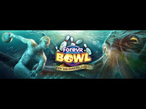 ForeVR Games - ForeVR Bowl - Atlantis Lost City Bowl Trailer - Play Now on Oculus Quest!