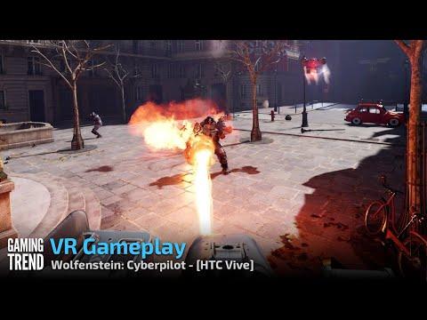 Wolfenstein: Cyberpilot - Let's Play VR - Vive [Gaming Trend]