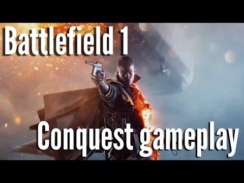 Battlefield 1 multiplayer beta gameplay - Conquest