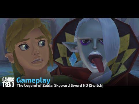 The Legend of Zelda: Skyward Sword HD Gameplay - Switch [Gaming Trend]
