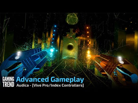 Audica - Gameplay on Advanced - Vive Pro and Index Controllers [Gaming Trend]