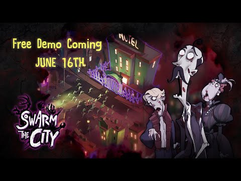 Swarm the City   Free Demo Trailer   New Casual Strategy Zombie Game   Coming June 16th