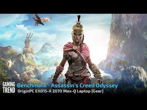 OriginPC EON15-X 2070 Max-Q AMD Laptop - Benchmark - Assassin's Creed Odyssey [Gaming Trend]