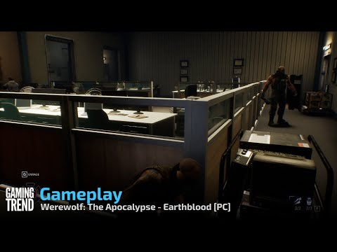 Werewolf: The Apocalypse - Earthblood Gameplay - PC [Gaming Trend]